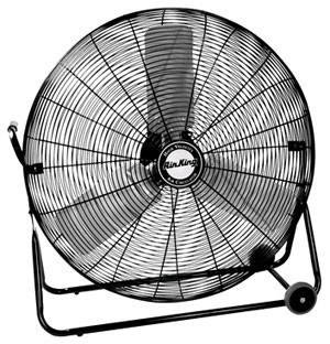 Pivoting Floor Drum Fan