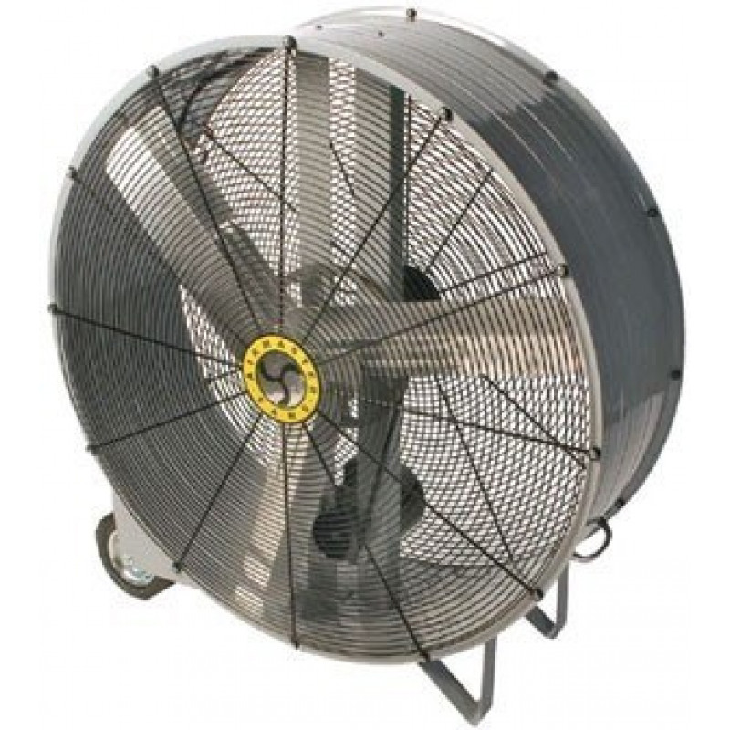 42 Inch Portable Fan : Air blower barrel fan